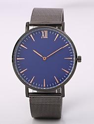 preiswerte -Herrn Damen Armbanduhren für den Alltag Modeuhr Armbanduhr Chinesisch Quartz N/A Legierung Band Freizeit Elegant Minimalistisch Schwarz