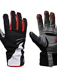 cheap -WEST BIKING® Sports Gloves Ski Gloves Bike Gloves / Cycling Gloves Keep Warm Waterproof Windproof Fleece Lining Breathable Anti-skidding
