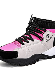 cheap -Girls' Shoes Breathable Mesh Nubuck leather Synthetic Winter Spring Fashion Boots Bootie Athletic Shoes Hiking Shoes Booties/Ankle Boots