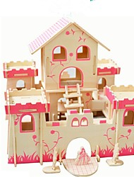 preiswerte -Holzpuzzle Modellbausätze Neuheit Fokus Spielzeug Simulation Eltern-Kind-Interaktion Hölzern Klassisch Künstlerisch/Retro 2 bis 4 Jahre 5