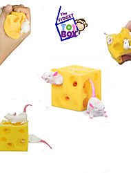 cheap -Animals Stress Relievers Toys Square Food & Beverages Stress and Anxiety Relief Decompression Toys Kids 1 Pieces