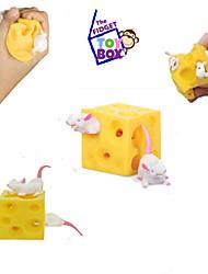 Недорогие -животные стресс relievers игрушки квадратные продукты питания и напитки стресс и тревога помощь декомпрессионные игрушки дети 1 шт.