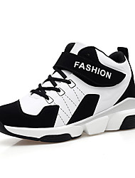 cheap -Men's Shoes Synthetic Microfiber PU Spring Summer Fall Comfort Athletic Shoes Basketball Shoes for Athletic Outdoor White Black Red