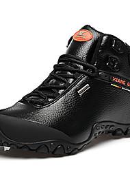 abordables -Unisexe Chaussures Cuir Nappa Hiver Automne Confort Chaussures d'Athlétisme Randonnée Bottine/Demi Botte pour Athlétique De plein air