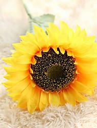 Недорогие -Искусственные Цветы 1 Филиал Современный / Свадьба Подсолнухи Букеты на стол