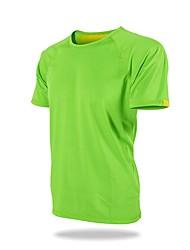 economico -Per uomo Unisex T-shirt da escursione Esterno Allenamento Traspirabilità T-shirt N/D Corsa All'aperto