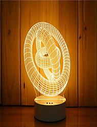 1 комплект 3d вечернего ночного духа настроения с подсветкой