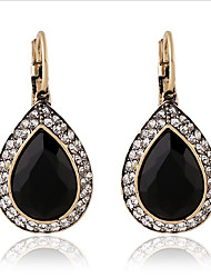 cheap -Women's One-piece Suit Drop Earrings Classic Alloy Drop Jewelry Black Gift Daily Costume Jewelry