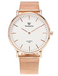 baratos -Mulheres Relógio Casual Relógio de Moda Relógio Elegante Chinês Quartzo N/D Lega Banda Casual Minimalista Prata Ouro Rose