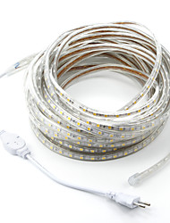 cheap -15M/1PCS  220V 5050 LED Flexible Tape Rope Strip Light Xmas Outdoor Waterproof   Garden outdoor lightingEU Plug EU