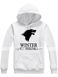 cheap -Winter is Coming Ugly Christmas Sweater / Sweatshirt Men's Festival / Holiday Halloween Costumes White Black Letter Casual