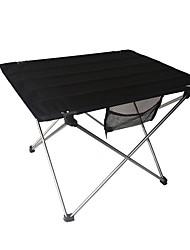 Недорогие -Складное туристическое кресло На открытом воздухе Складной Aluminum Alloy для 1 человек Походы - Черный