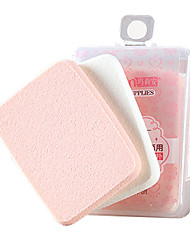 cheap -2 pcs Powder Puff Sponge Quadrate Women