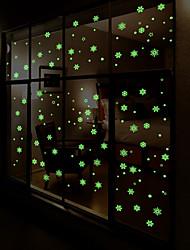 Недорогие -Пейзаж Геометрия Наклейки Простые наклейки Декоративные наклейки на стены, Винил Украшение дома Наклейка на стену Стена Окно
