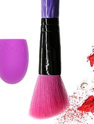 Недорогие -2шт профессиональный Кисти для макияжа Кисть для румян Синтетические волосы Закрытая чашечка Смола Румянец