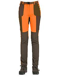 abordables -Mujer Pantalones para senderismo Al aire libre Resistente al Viento, Listo para vestir, retener el calor Invierno Pantalones /
