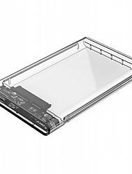 economico -orico 2139u3 2.5 pollici usb 3.0 micro b custodia disco rigido - usb 3.0 micro b trasparente
