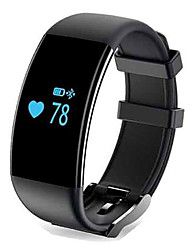 cheap -Smart Bracelet Touch Screen Heart Rate Monitor Calories Burned Pedometers Distance Tracking Anti-lost Message Control Camera Control Long
