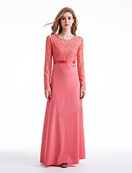 Недорогие -Мода Платья Jalabiya Платье Кафтан Жен. Фестиваль / праздник Костюмы на Хэллоуин Черный Зеленый Розовый Однотонный
