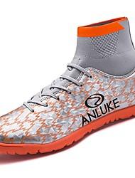 Недорогие -Муж. Комфортная обувь Резина Весна / Осень Спортивная обувь Voetbal Ботинки Черный / Оранжевый / Тёмно-синий