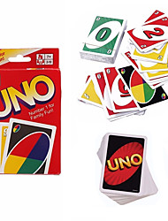 cheap -Card Game UNO Stress and Anxiety Relief Decompression Toys Family Pieces Boys' Kid's Adults' Gift