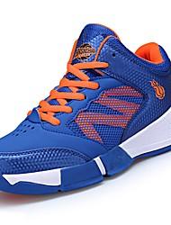 Masculino sapatos Tule Couro Ecológico Outono Conforto Tênis Basquete para Atlético Casual Roxo Azul Preto/Vermelho