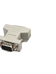 cheap -DVI Adapter, DVI to VGA Adapter Male - Female 720P Nickel-plated steel 800 Mbps