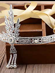 cheap -The Great Gatsby Headband 1920s Golden Silver Chrome Cosplay Accessories Masquerade