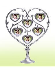 Недорогие -Не персонализированные Металлические Фото рамки Для нее Невеста Свидетельница Пара Друзья Свадьба День рождения