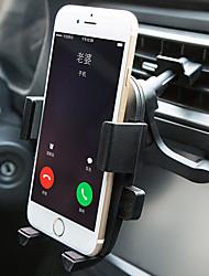 Support de support de voiture de téléphone portable Support de support d'air grille de tableau de bord pare-brise universel type de boucle