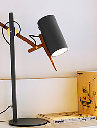 cheap -Artistic Dimmable Table Lamp For Metal 220V White / Black