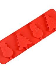 baratos -Ferramentas bakeware silica Gel Ferramenta baking / Gadget de Cozinha Criativa Bolo / para Chocolate Moldes de bolos 1pç