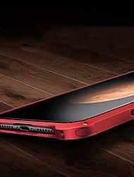 baratos -Capinha Para iPhone 7 Plus iPhone 7 Apple Anti-poeira Capa traseira Côr Sólida Rígida Metal para iPhone 7 Plus iPhone 7