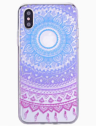 Per iPhone X iPhone 8 iPhone 7 iPhone 7 Plus iPhone 6 iPhone 6 Plus Custodie cover Fantasia/disegno Custodia posteriore Custodia Fiori
