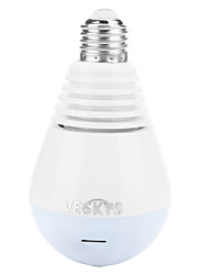 cheap -VESKYS® 2.0MP 1080P Fisheye 360 Degree Panorama Lamp Bulb Shape Wireless IP Camera / lnfrared and White Light/H.265