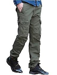 abordables -Homme Pantalons de Randonnée Extérieur Avion-école, Marche Pantalon / Surpantalon Pêche / Randonnée / Camping