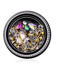 abordables -Ornements Applique Bijoux à ongles Style moderne Nail Glitter Accessoire d'outil de bricolage d'ongle d'art Mode Haute qualité Quotidien