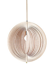 cheap -Pendant Light ,  Modern / Vintage / Country Wood Feature for Designers Wood/BambooDining Room  / Study (Diameter 50cm)