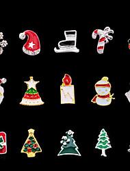 Недорогие -Орнаменты Украшения для ногтей Инструменты сделай-сам Мода Рождество Высокое качество Повседневные Дизайн ногтей