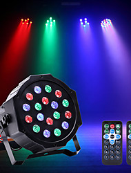 cheap -U'King LED Stage Light / Spot Light LED Par Lights DMX 512 Master-Slave Sound-Activated Auto Remote Control for Party Stage Wedding Club