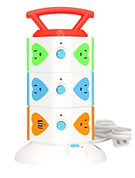 economico -lucky hwak l3 us plug 12 porte con switch (es) 2.0m (6.5ft)