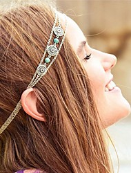 More Accessories Sweet Lolita Dress Headbands Vintage Inspired Women's Girls' Silver Lolita Accessories Art Deco Headwear Chrome