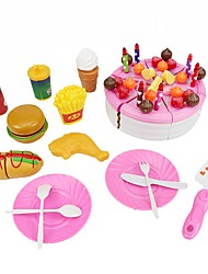cheap -Pretend Play Construction Tools Kids' Cooking Appliances Toys Circular Friut Food&Drink Food & Beverages Boys Girls Pieces