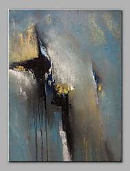 baratos -Pintados à mão Abstrato Vertical, Modern Tela de pintura Pintura a Óleo Decoração para casa 1 Painel