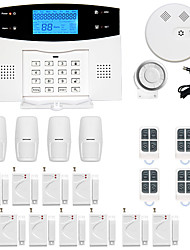 cheap -433MHz SMS / Phone 433MHz GSM / TELEPHONE Learning Code Home Alarm Systems