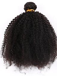 baratos -Cabelo Brasileiro Não processado Tramas de cabelo humano 1pç Cabelo Humano Ondulado