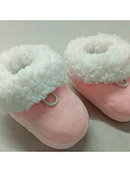Baby Shoes Fabric Winter Fall Comfort First Walkers Boots Walking Shoes Mid-Calf Boots Gore for Casual Pink Blue