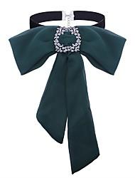 Недорогие -Жен. Ожерелья-бархатки - Бант Классика, Мода Темно-зеленый Ожерелье Назначение Повседневные