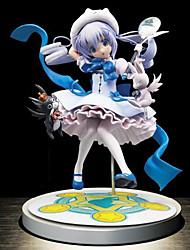 economico -anime action figure ispirate a puella magi madoka magica gaara in pvc cm modello giocattoli bambola giocattolo