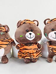 abordables -juguetes de peluche Juguetes Oso Animal Shape Animal Animales Amigos Familia Suave Juguete de dibujos animados Diseño de Caricatura
